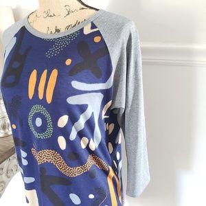LuLaRoe Tops - Lularoe top shirt long legging tunic sz medium
